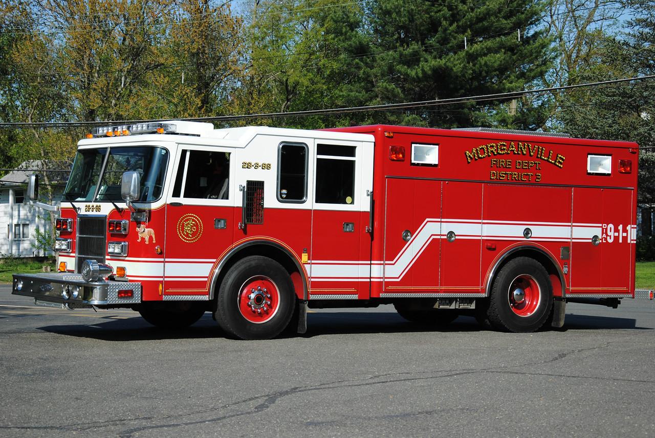 Morganville Fire Department, Marlboro Rescue 28-3-86