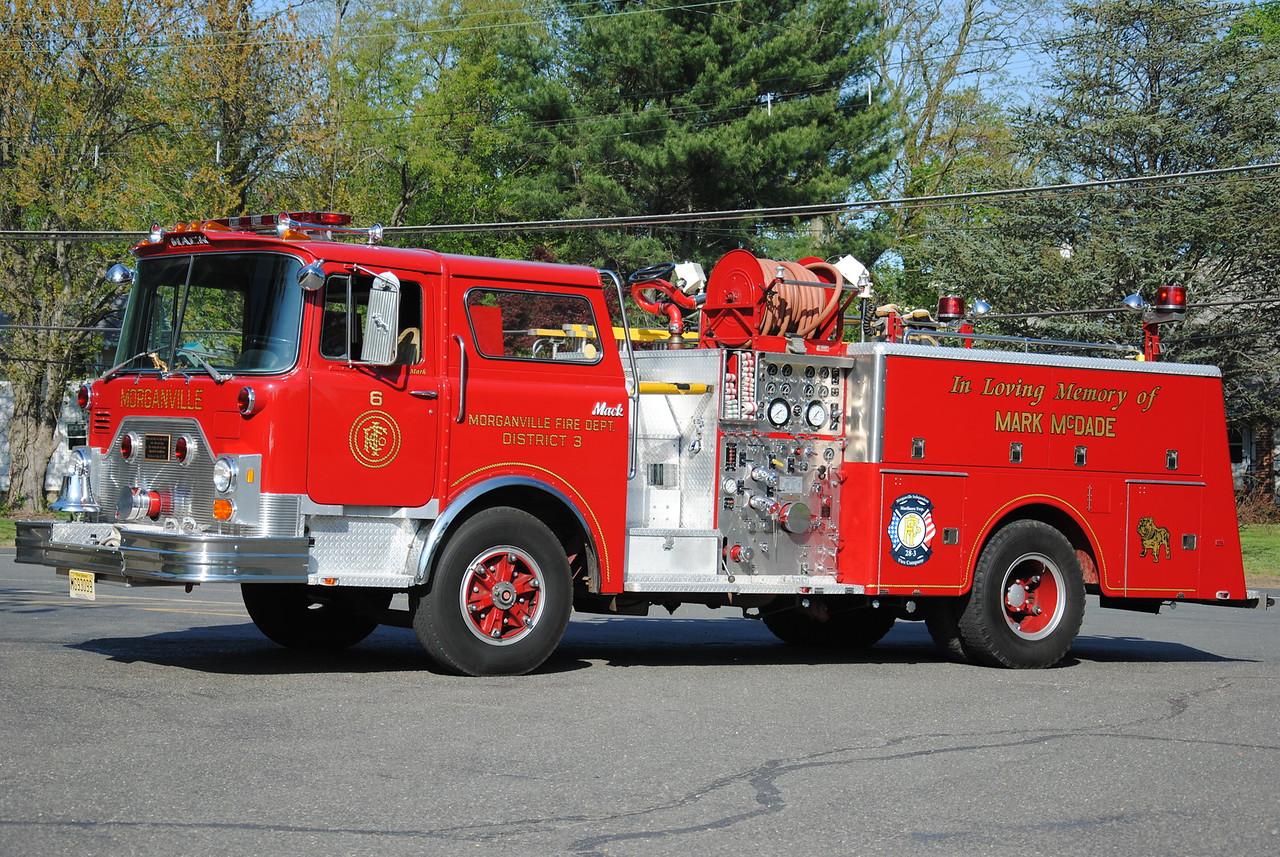 Morganville Fire Department Antique Engine 28-3-76