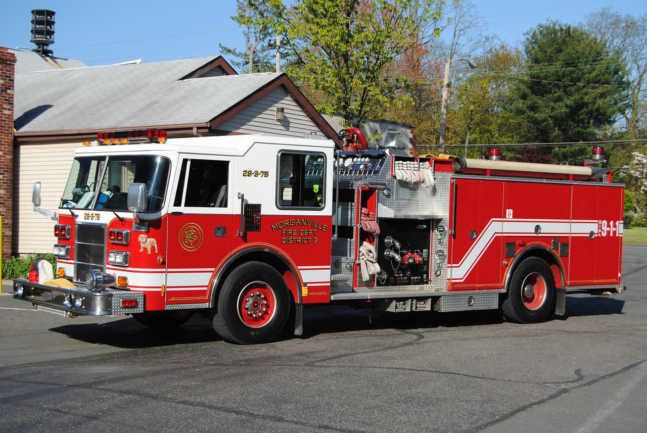 Morganville Independent FD, Marlboro Twp Engine 28-3-75