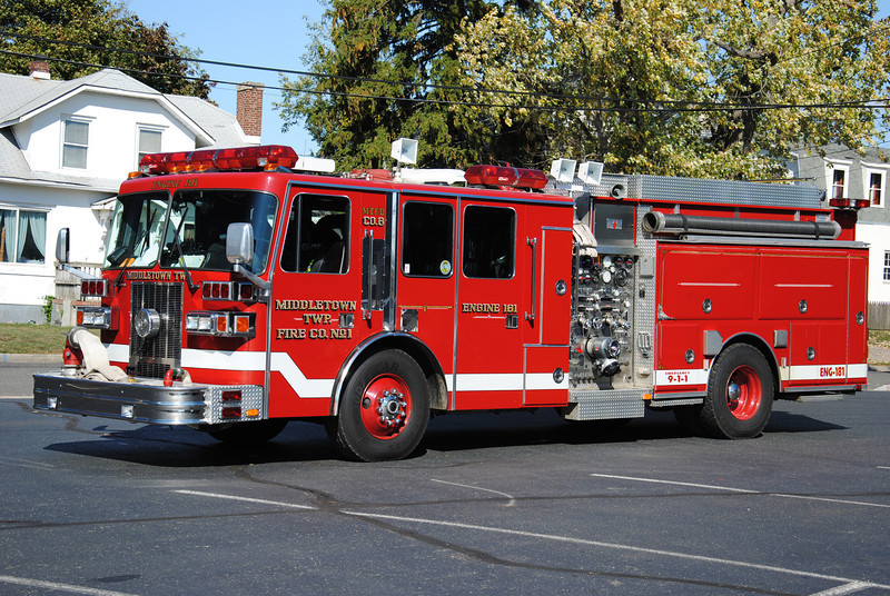 Middletown Twp Fire Company #1, Middletown Engine 181