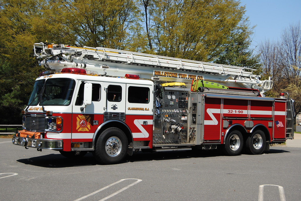 Millstone Twp Fire Company Squirt 32-1-90