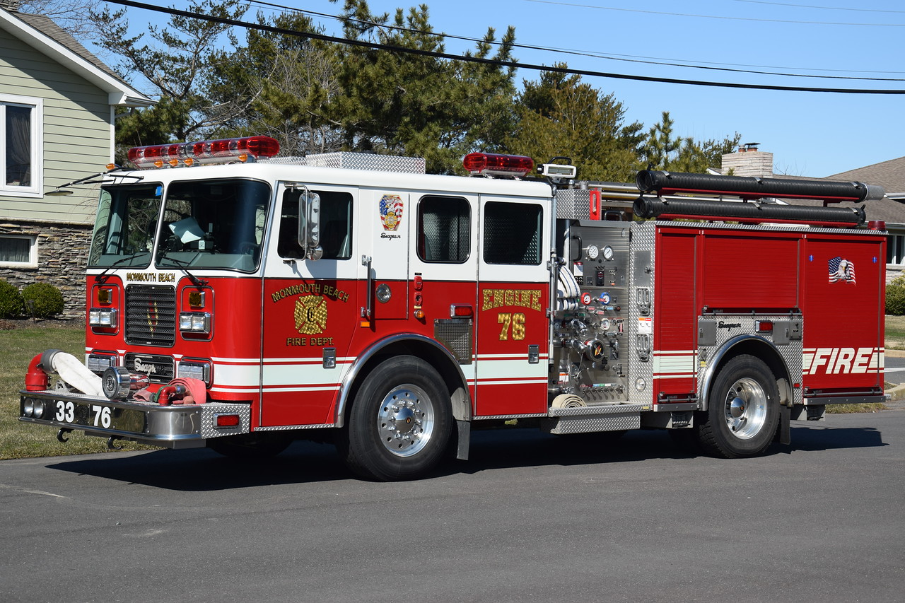 Monmouth Beach Fire Department Engine 33-76