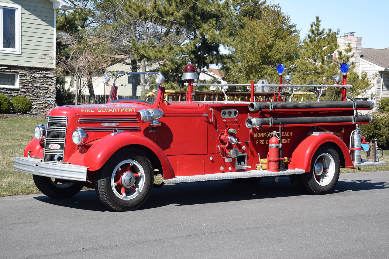 Monmouth Beach Fire Department Antique Engine