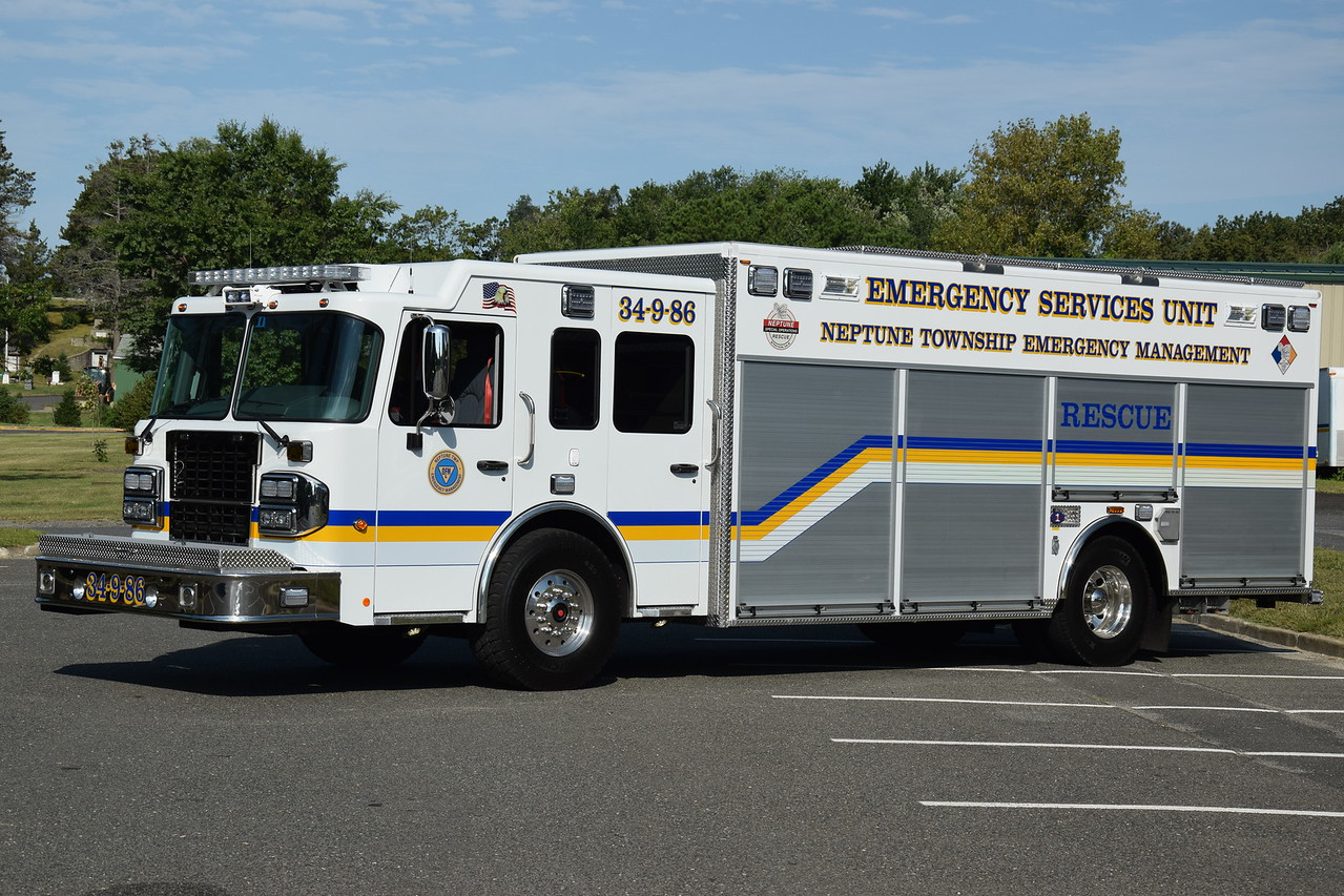 Neptune Twp Emergency Management, Rescue 34-9-86