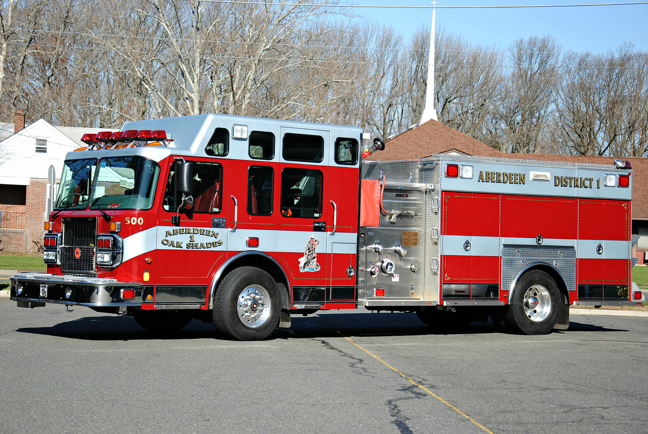 Oak Shades Fire District Engne 63-1-77