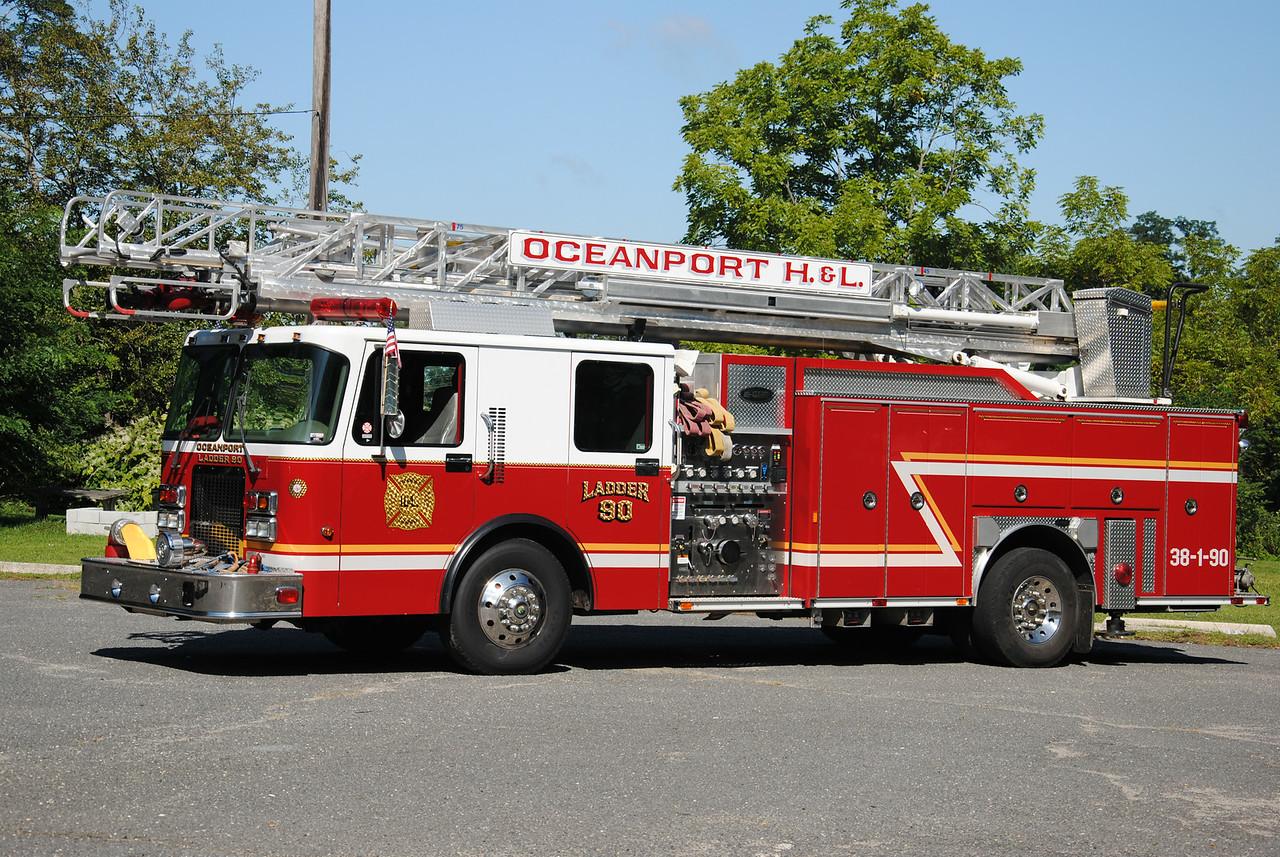 Oceanport Hook & Ladder Ladder 38-1-90