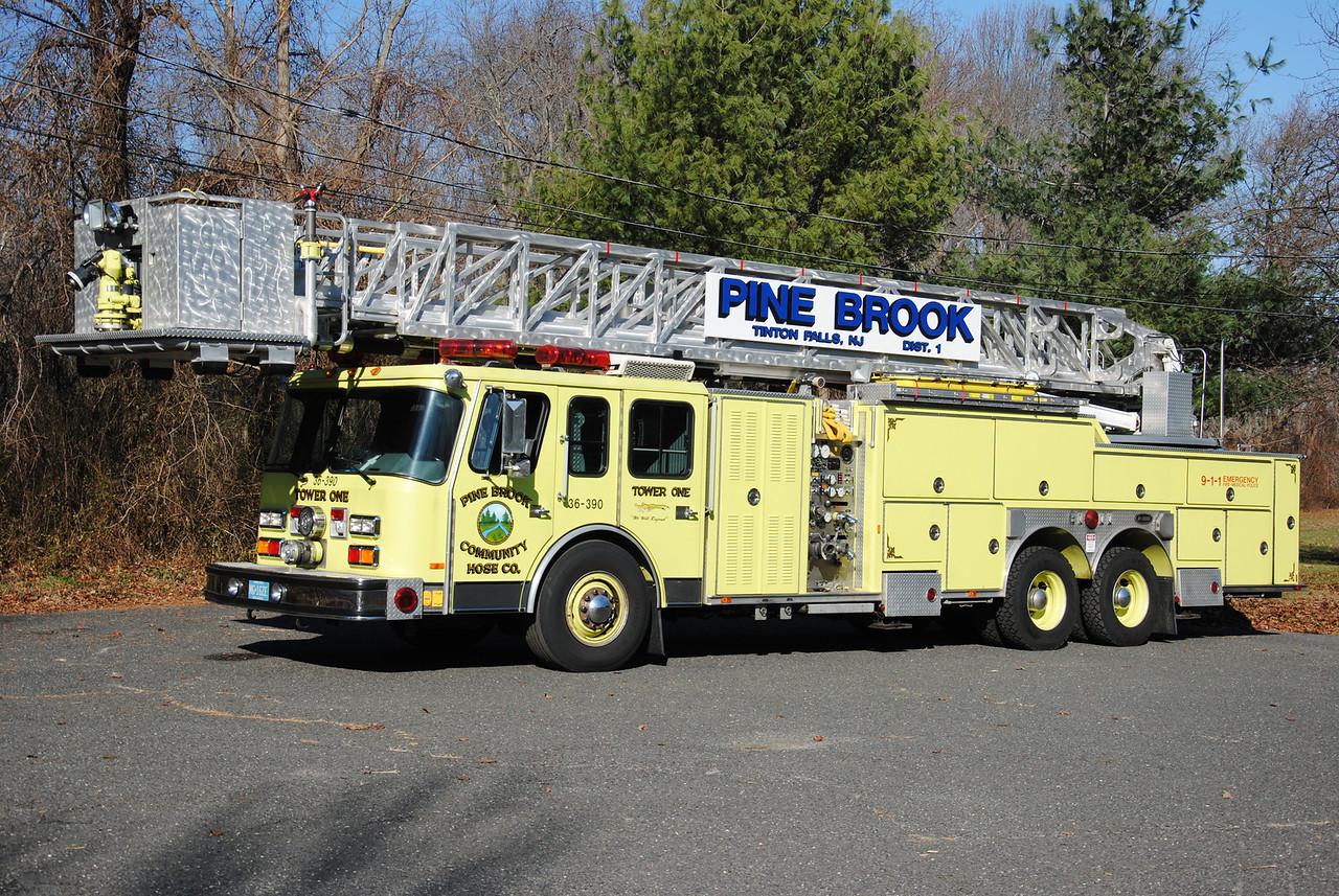 Pine Brook Community Hose Company, Tinton Falls Ladder 36-3-90