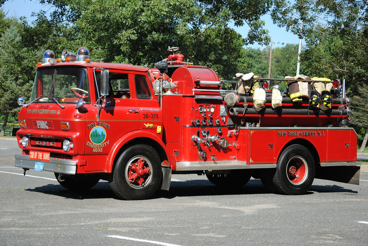 Pine Brook Community Hose, Tinton Falls Fire Department Engine 36-3-75