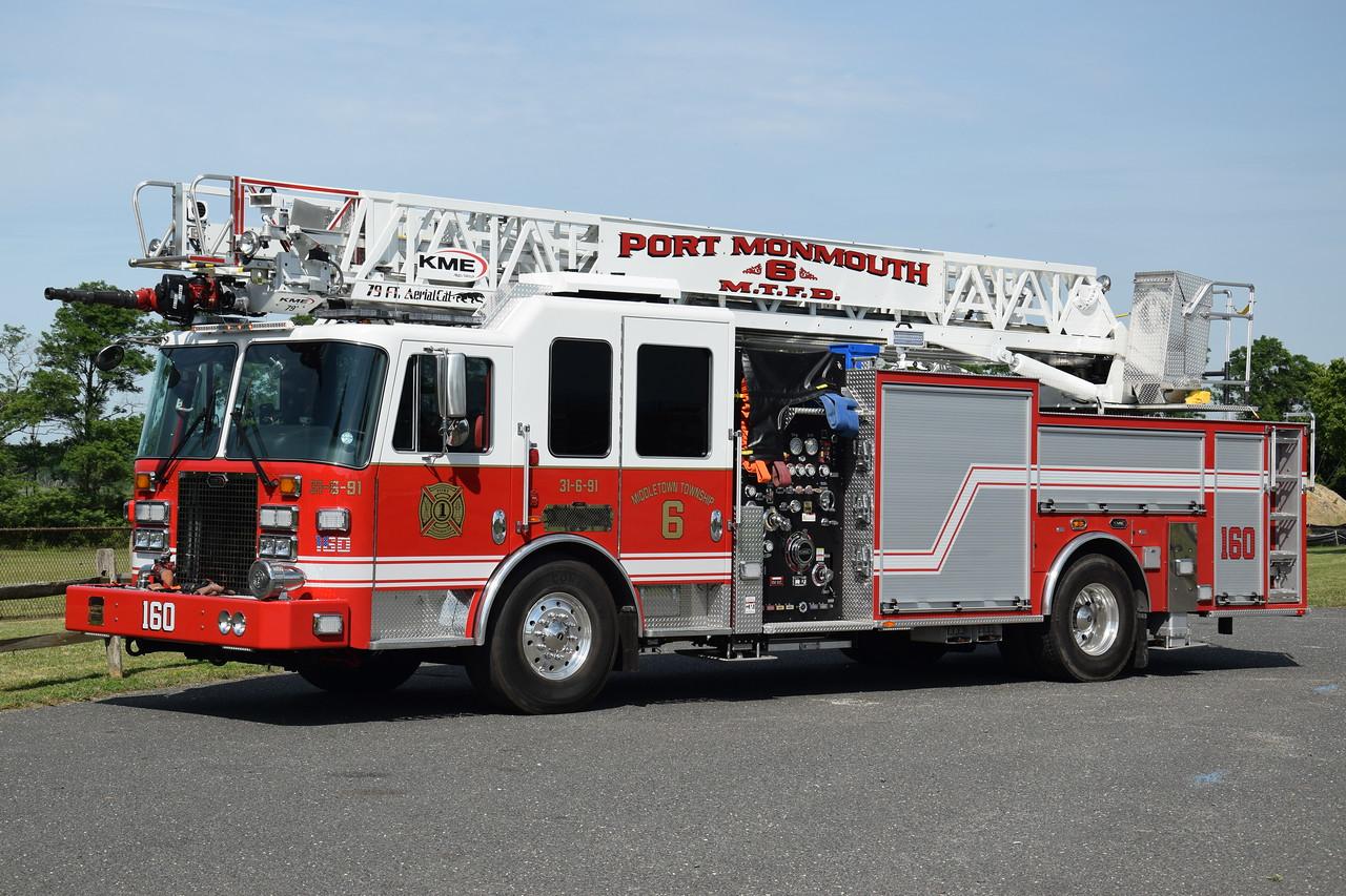 Port Monmouth Fire Company Ladder 31-6-91