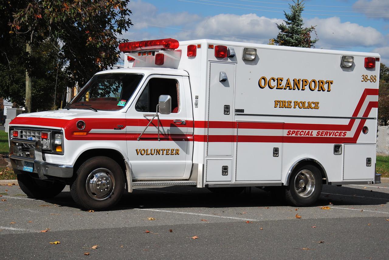 Port-Au-Peck Chemical Hose, Oceanport Fire-Police 38-88