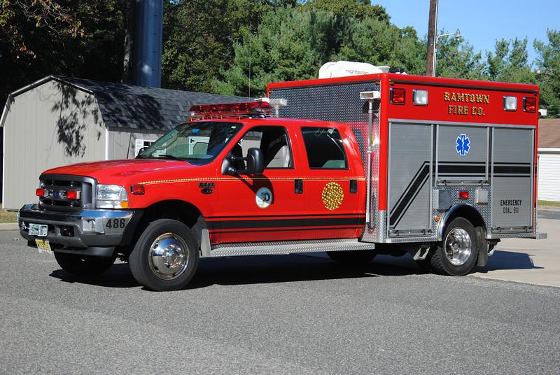 Ramtown Fire Company Rescue 19-4-86