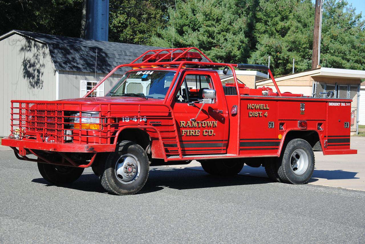 Ramtown Fire Company Brush 19-4-94