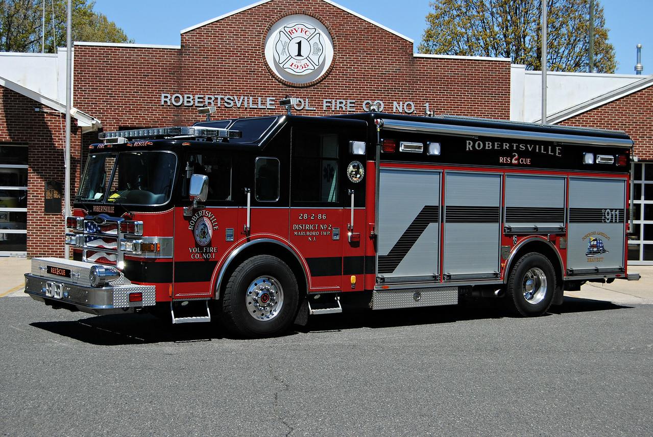 Robertsville Fire Company Rescue 28-2-86