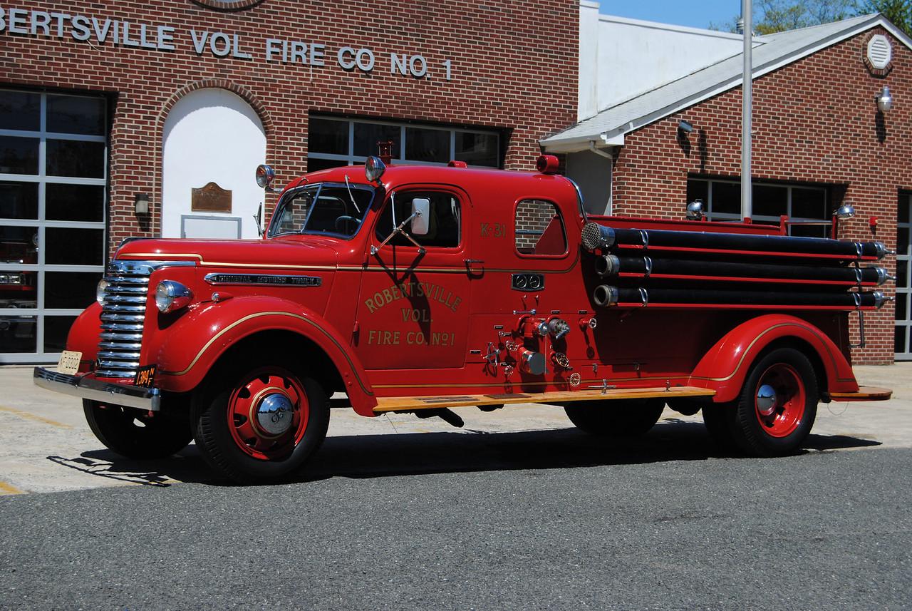 Robertsville Fire Company Antique 28