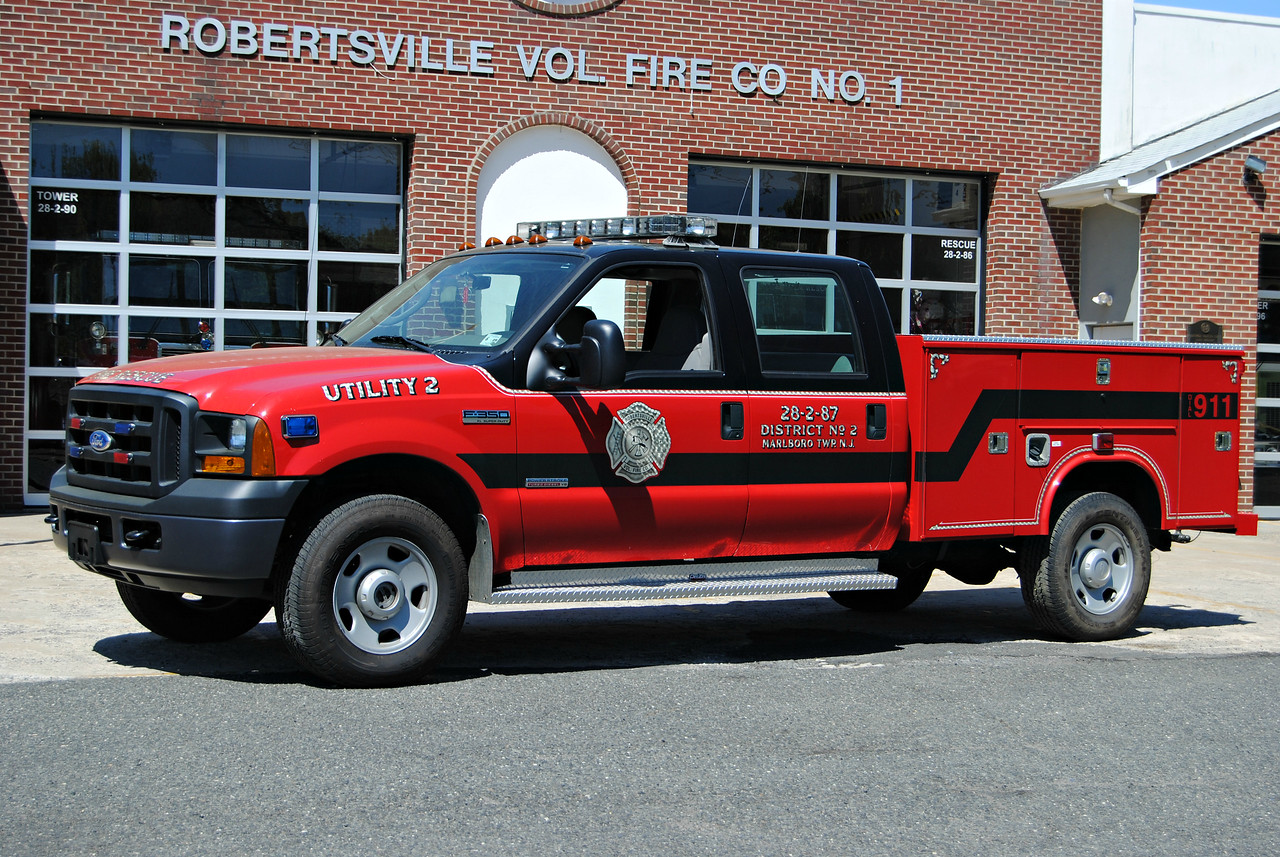 Robertsville Fire Company Utility 28-2-87