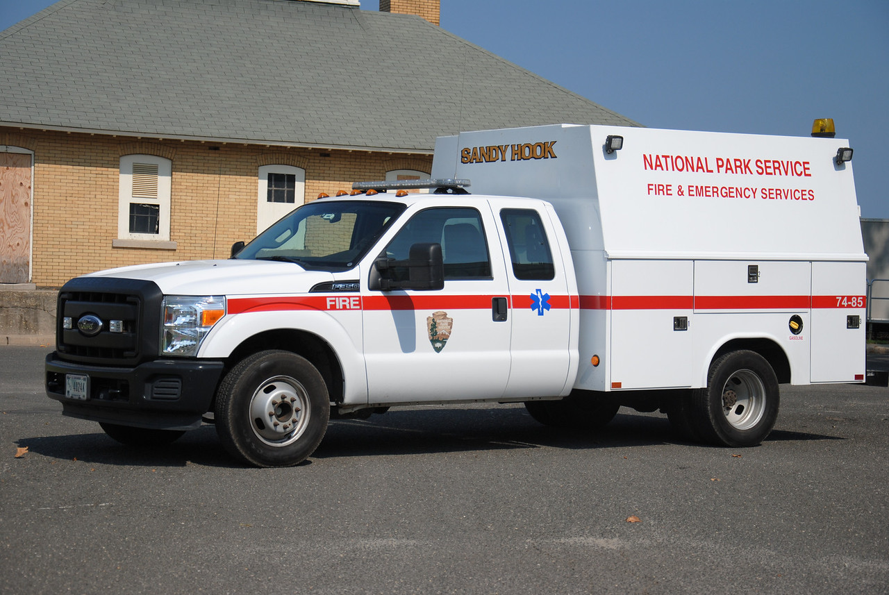 Sandy Hook Fire/Rescue, Us National Park Services Water Rescue 74-85