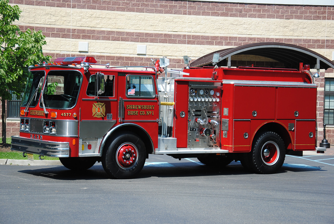 Shrewsbury Hose Company #1 Engine 4577