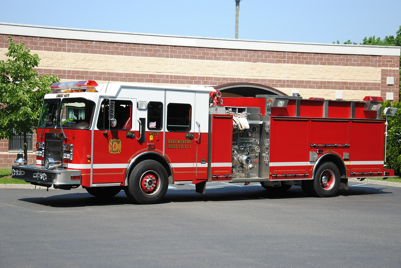 Shrewsbury Hose Company #1 Engine 4576