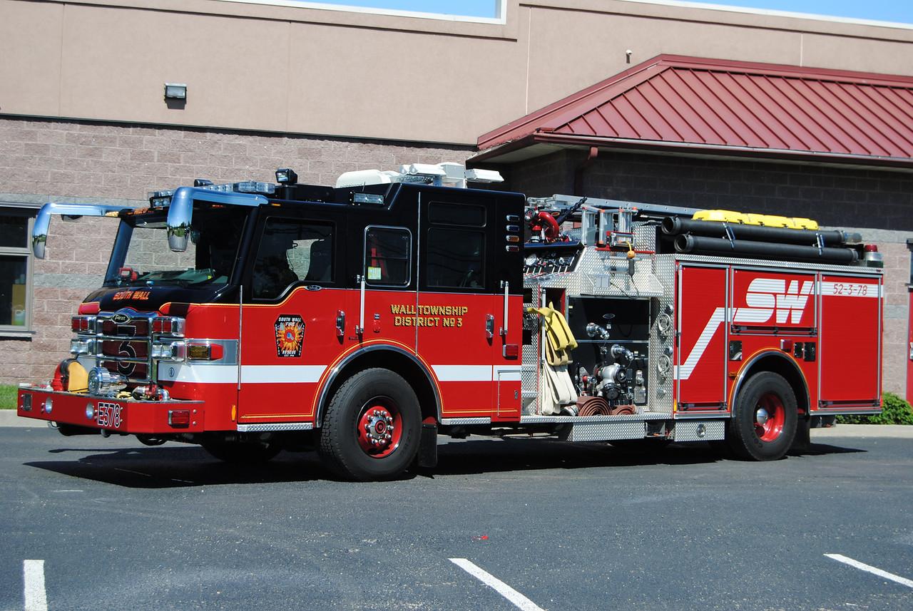 South Wall Fire Company Engine 52-3-78