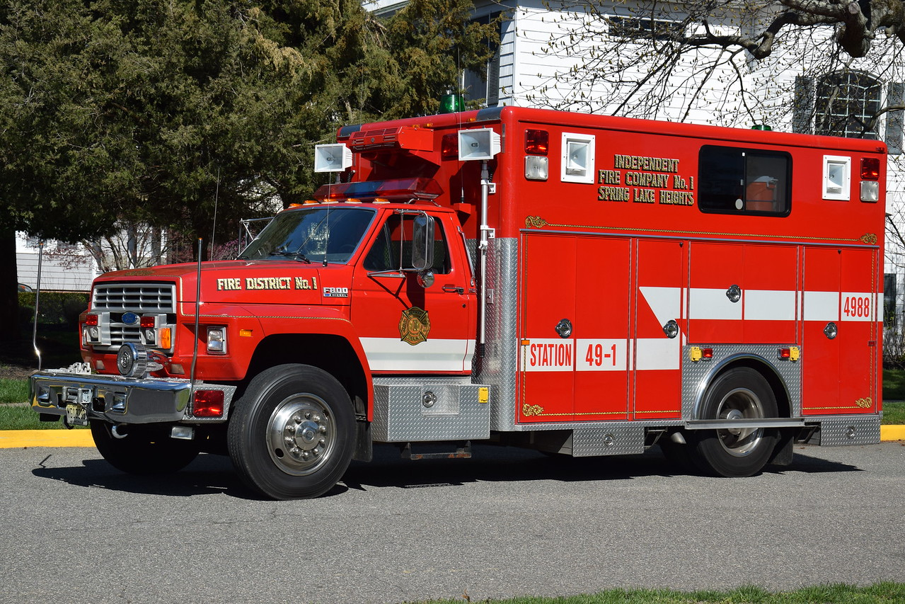 Spring Lake Heights Fire Department Rescue 49-88