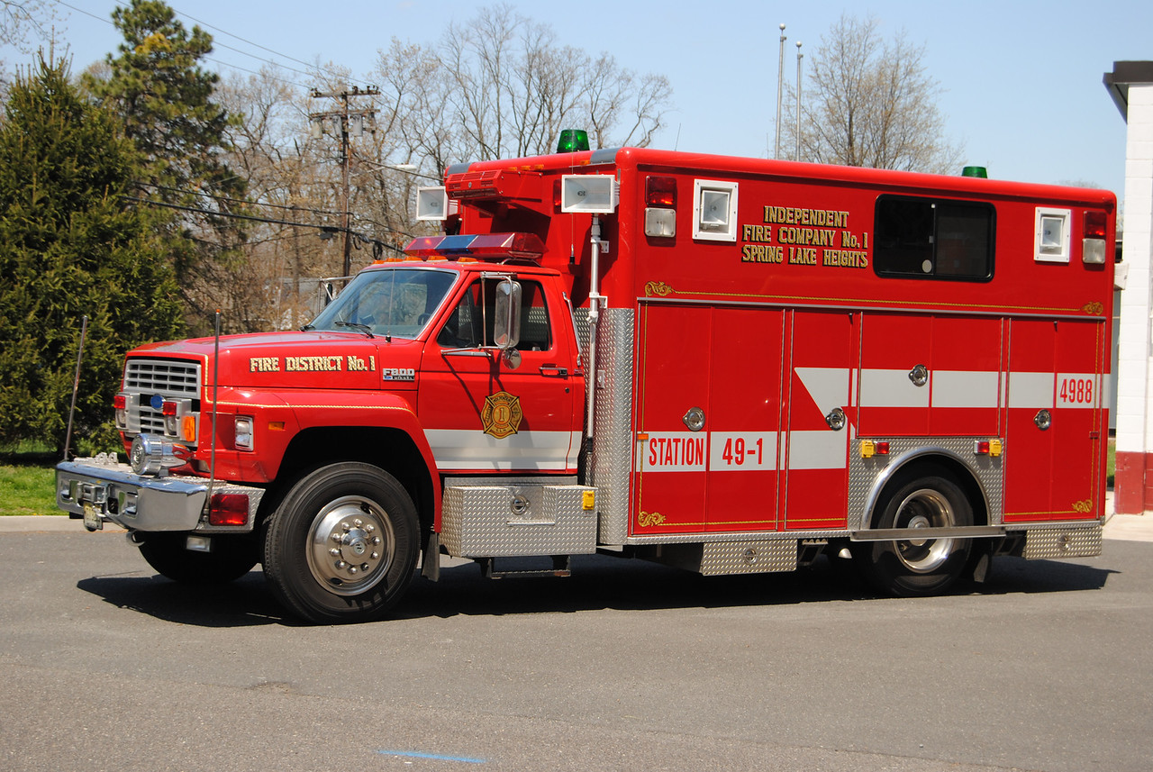 Independent Fire Company, Spring Lake Heights Rescue 49-88