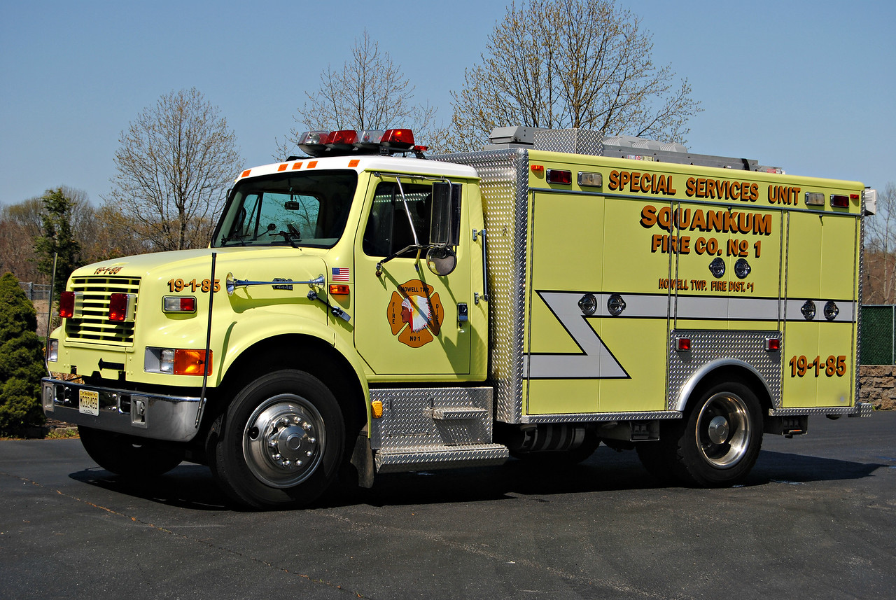 Squankum Fire Company, Howell Twp Special Services 19-1-85