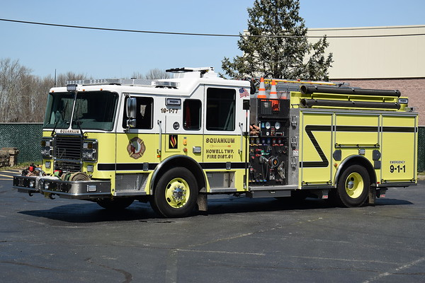 Sqaunkum Fire Company (Howell) Station 19-1