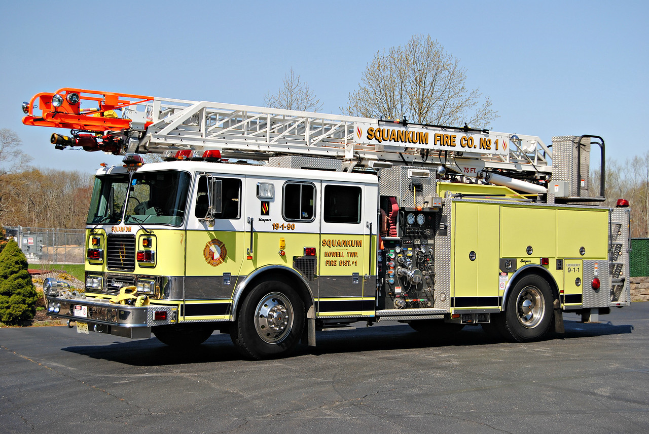 Squankum Fire Company, Howell Twp Laader 19-1-90