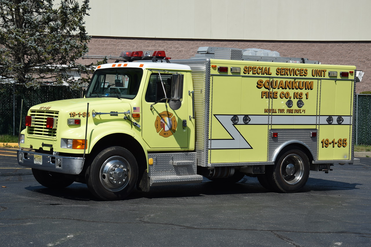 Squankum Fire Company Special Services 19-1-85