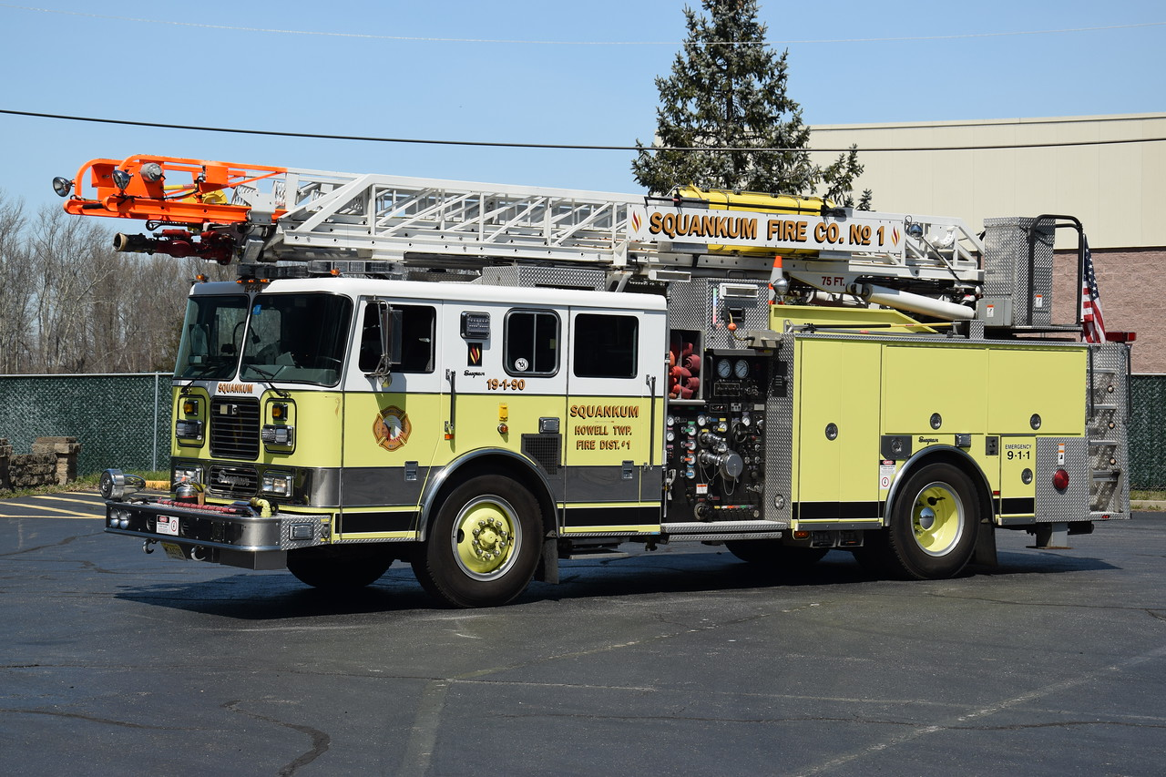 Squankum Fire Company Ladder 19-1-90