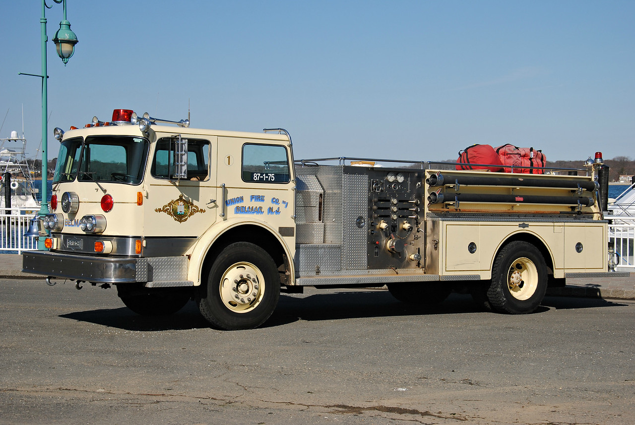 Union Fire Company #1, Belmar Engine 87-1-75