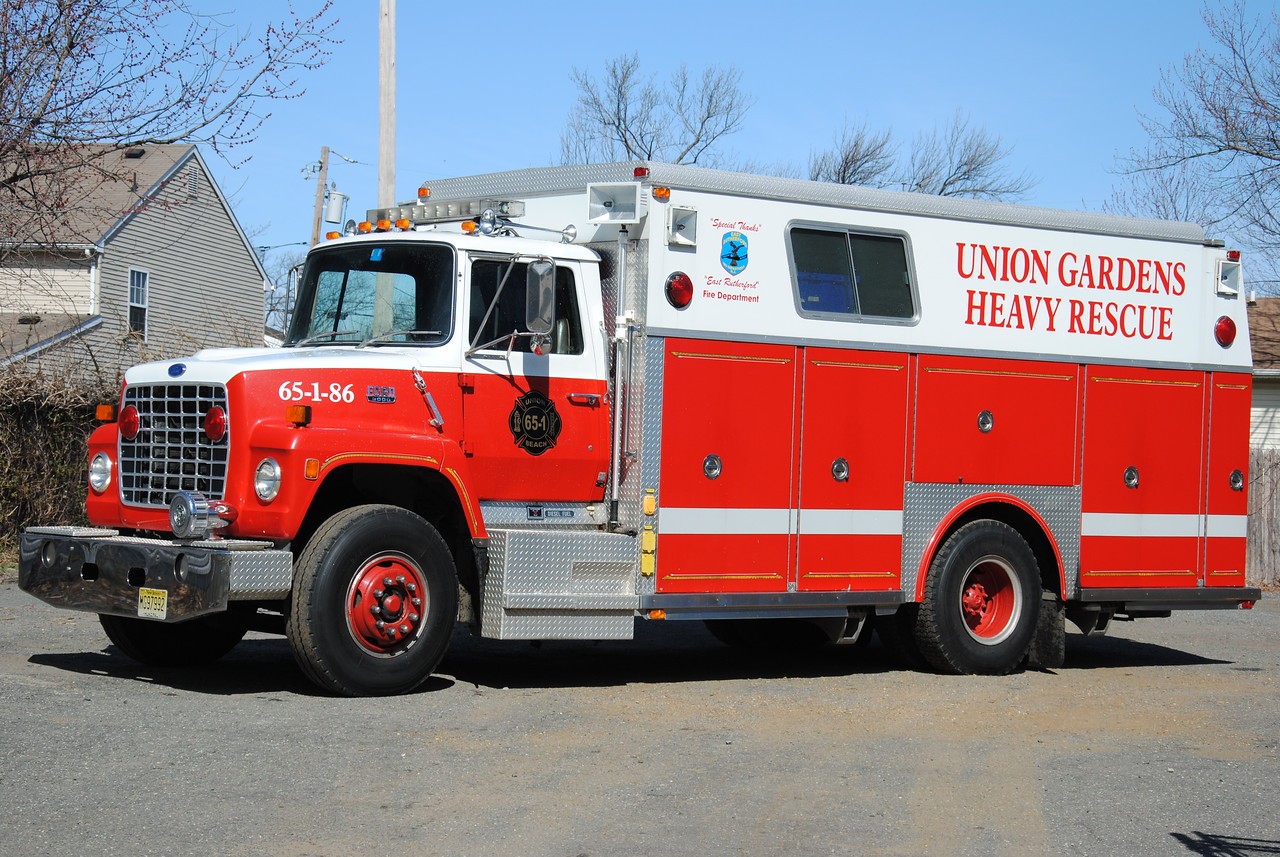 Union Gardens Fire Company Rescue 65-1-86