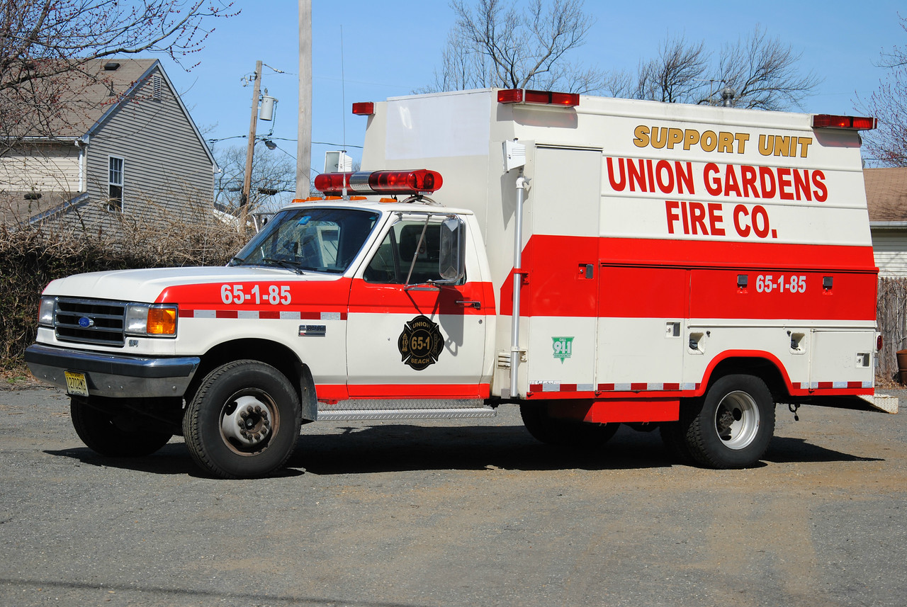 Union Gardens Fire Company Support 65-1-85