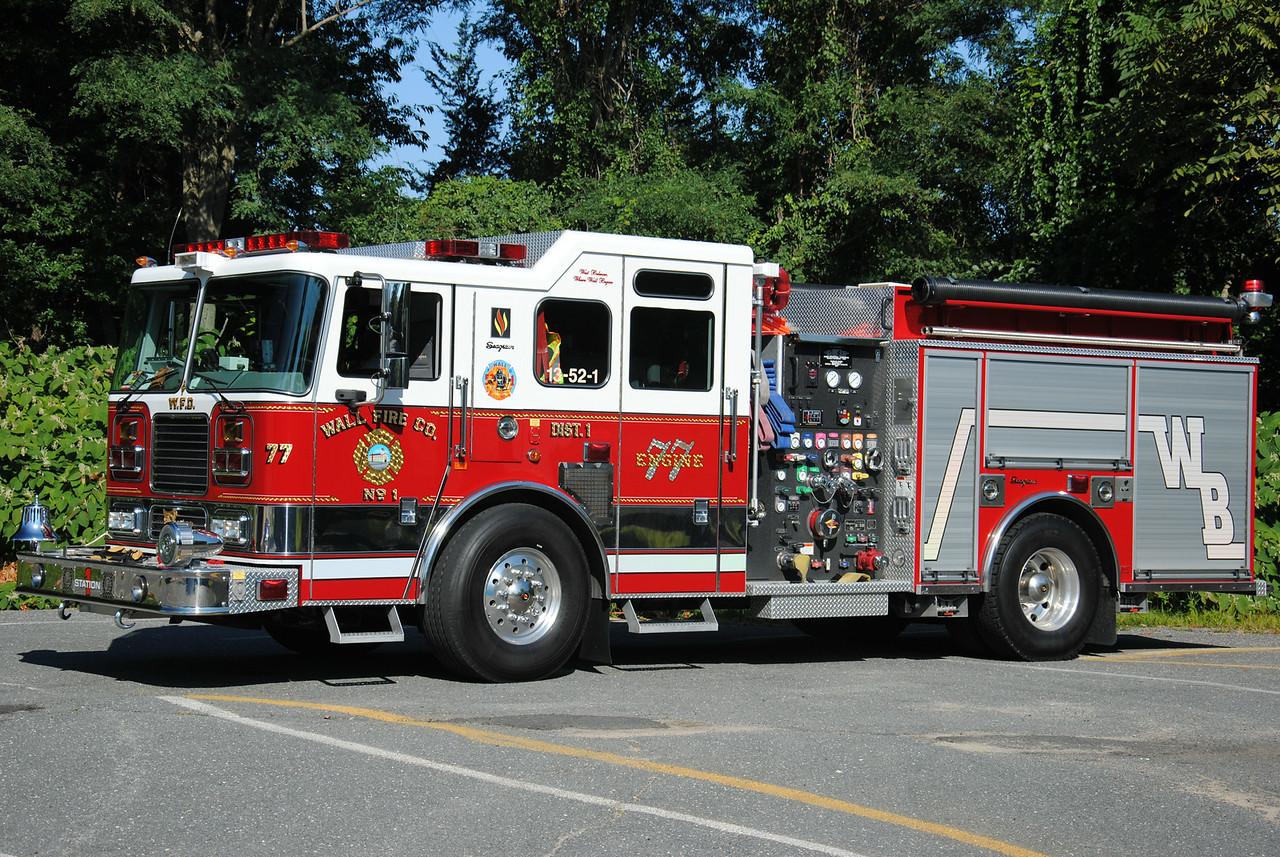 Wall Fire Company #1, Wall Twp Engine 52-1-77