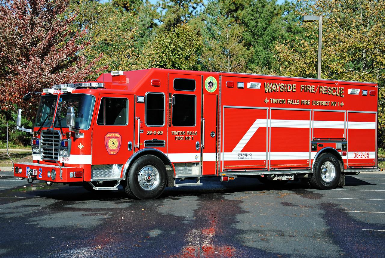Wayside Fire Company Rescue 36-2-85