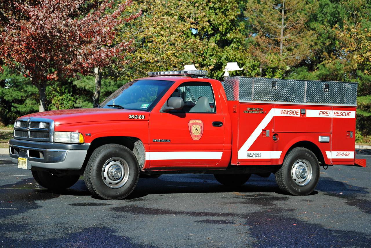 Ex-Wayside Fire Company Utility 36-2-88