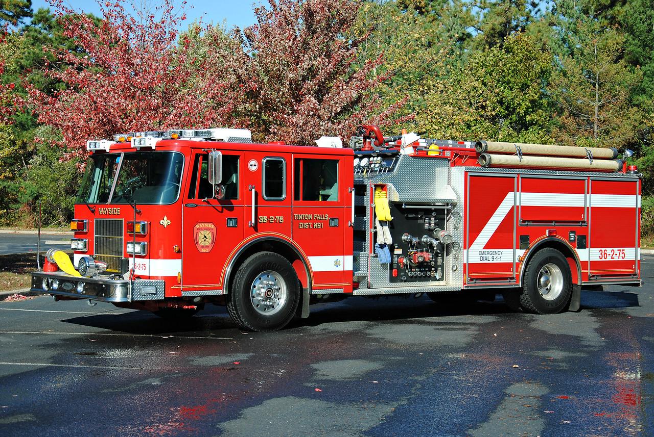 Wayside Fire Company Engine 36-2-75
