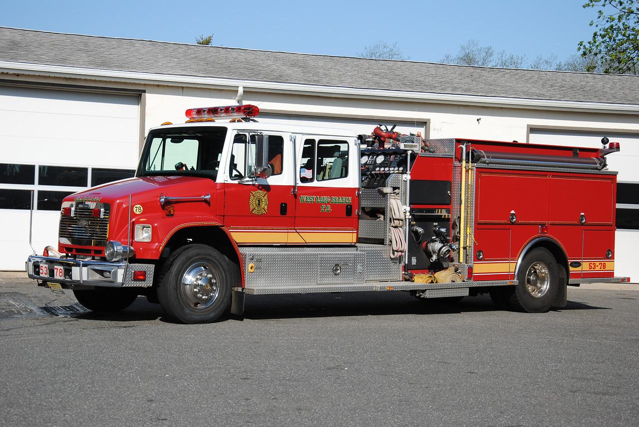 West Long Branch Fire Department,West Long Branch Engine 53-78