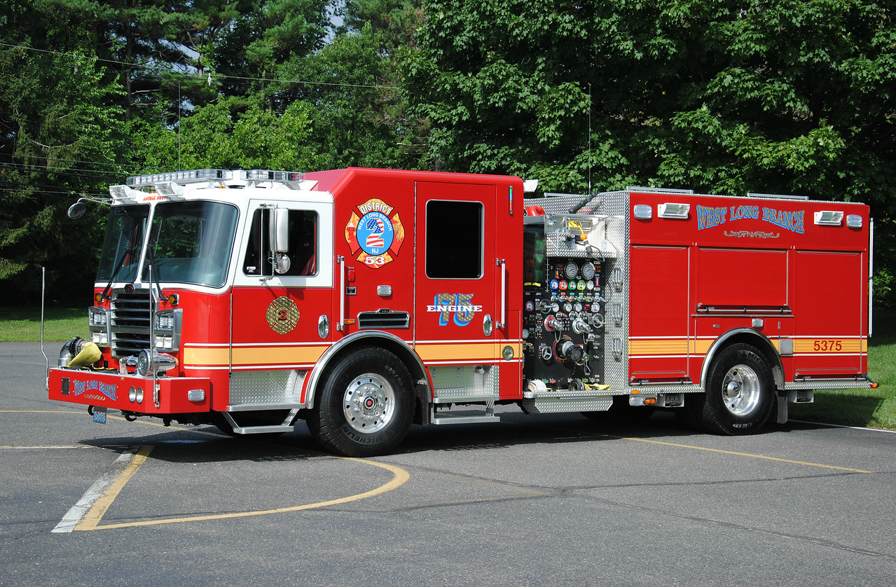 WLB Fire Company #2, West Long Branch Engine 53-75