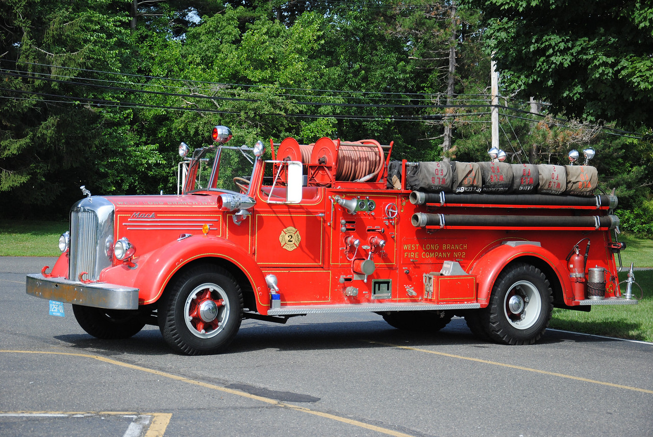 WLB Fire Company #2, West Long Branch Antique Engine