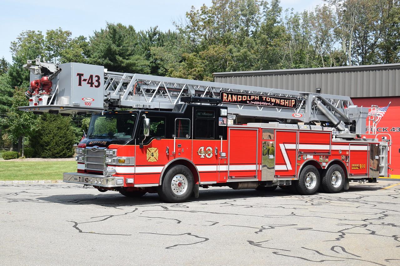 Ironia Fire Company Ladder 32-43