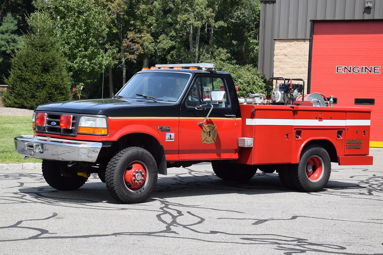 Ironia Fire Company Brush 32-44