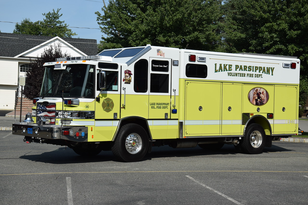 Lake Parsippany Fire Department Rescue 633