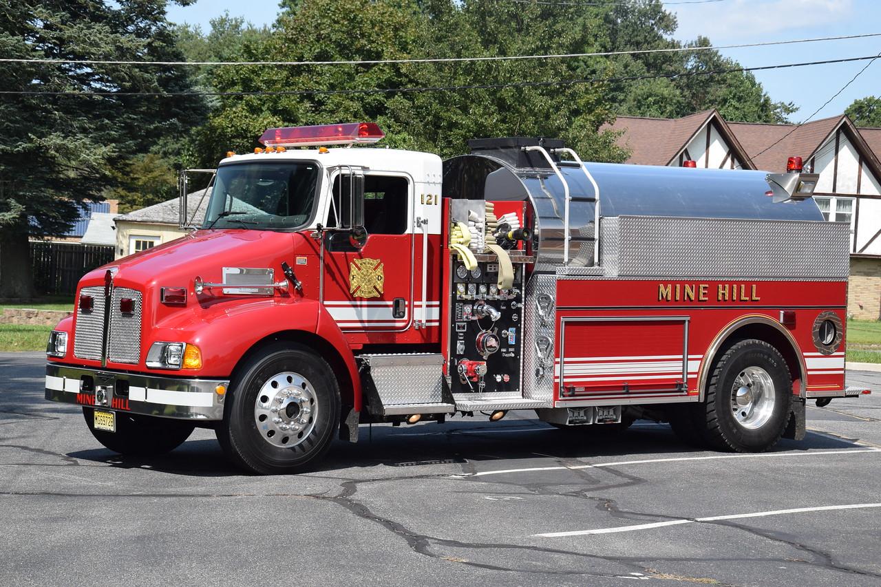 Mine Hill Fire Company Tanker 121