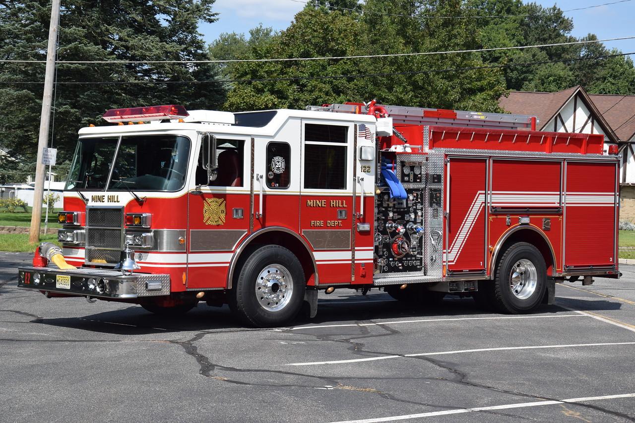 Mine Hill Fire Company Engine 122