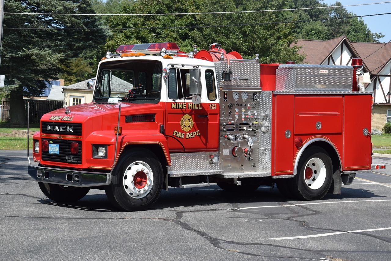 Mine Hill Fire Company Engine 123