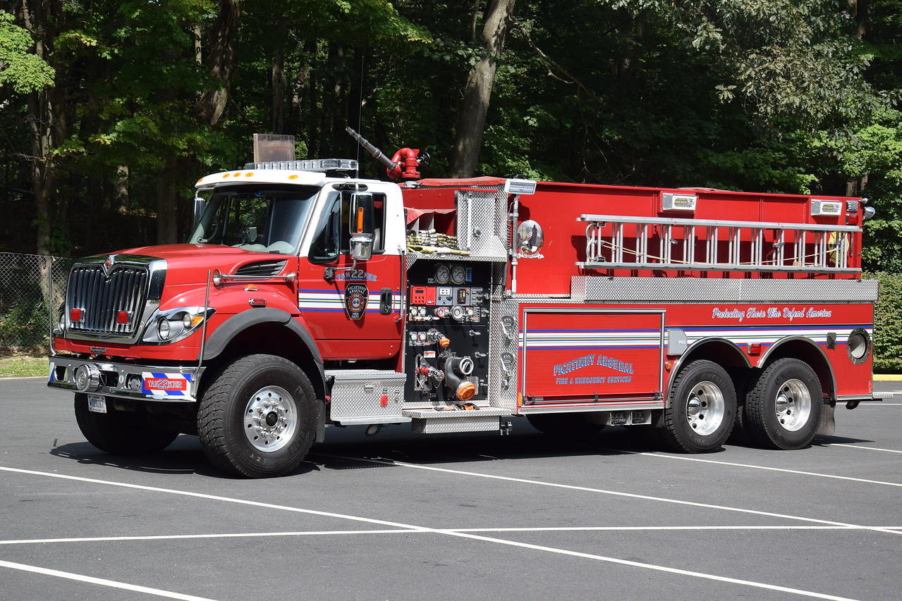 Picatinny Arsenal Fire Department Tanker 22