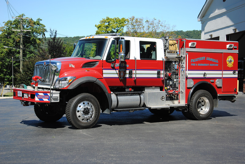 Picatinny Arsenal Fire Department Engine 19