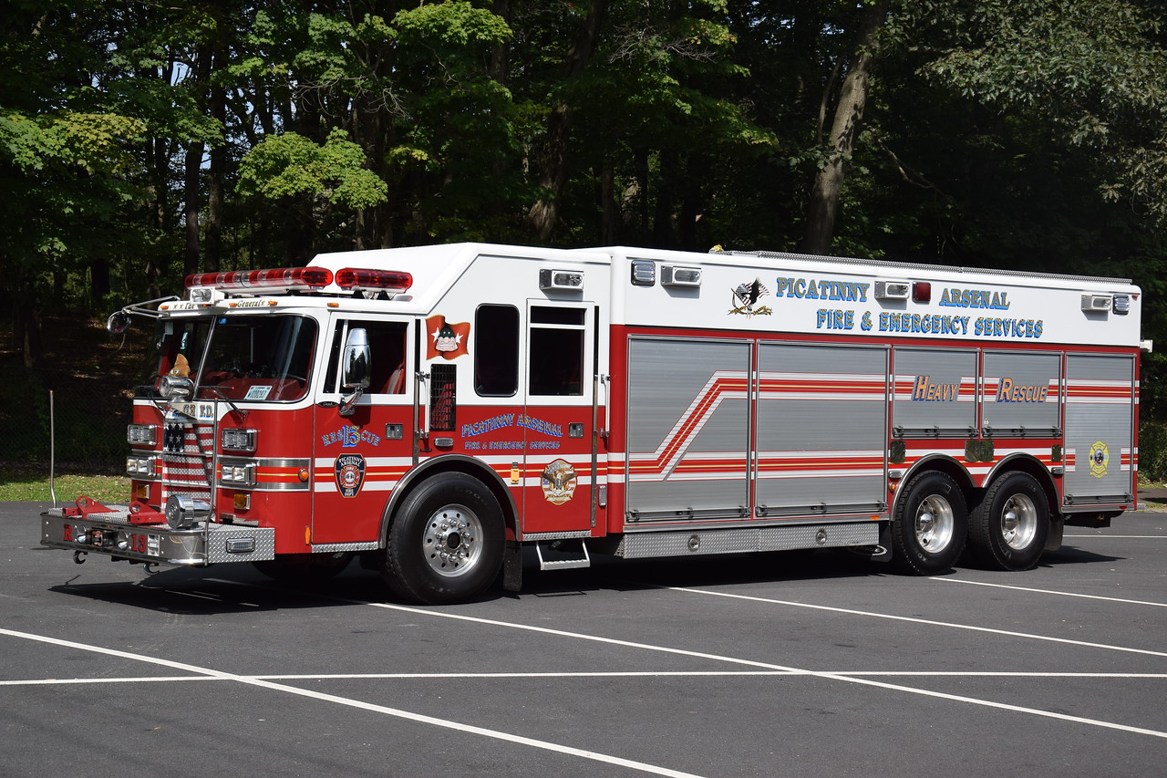 Picatinny Arsenal Fire Department Rescue 13