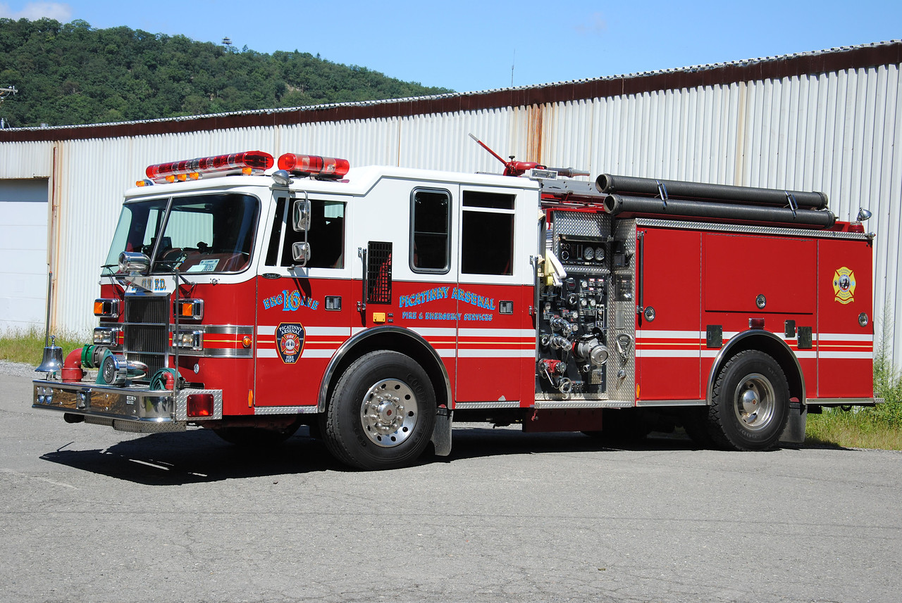 Picatinny Arsenal Fire Department Engine 16